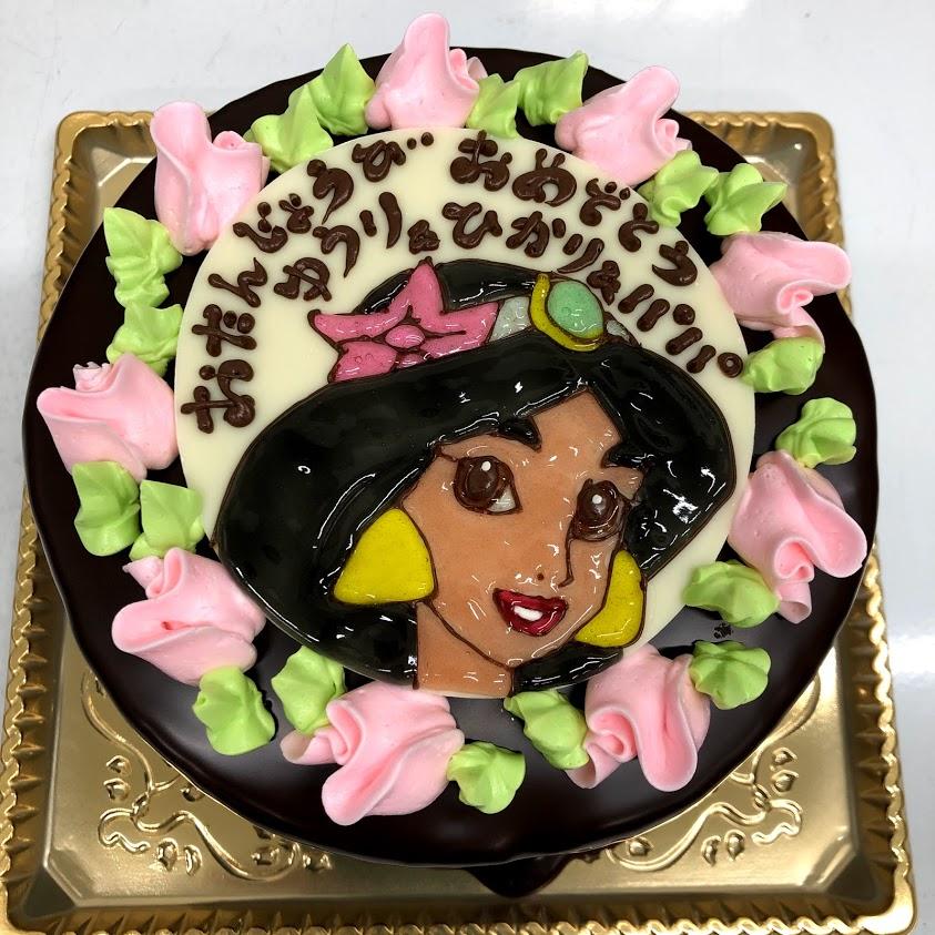 イラストてごレーションケーキ